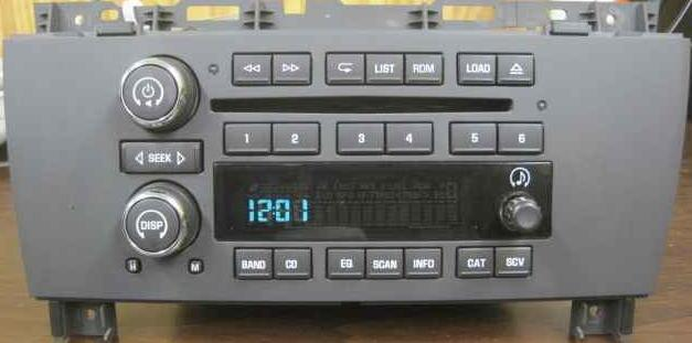 Buick Lacrosse 2005 Cd6 Xm Ready Radio 10391274 10337192 New