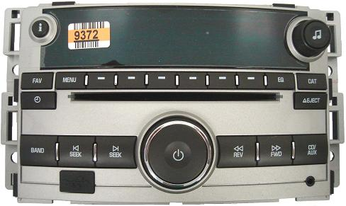 Cobalt G5 2007 2010 Cd Mp3 Sat Ready Usb Uui Radio 20789372 New 28179863 N