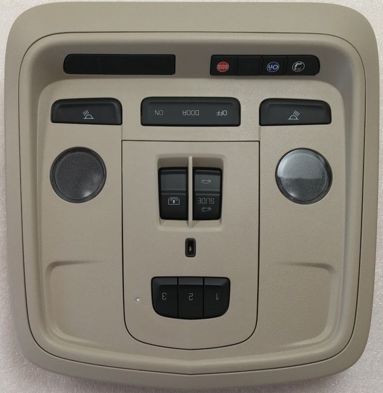 Cadillac XTS 15+ Tan Sunroof Console Homelink Garage Door