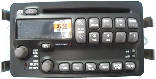 25753859 bonneville 2000 2005 cd radio 25752756 new click to enlarge publicscrutiny Choice Image