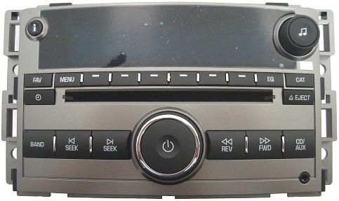 Chevy Malibu 2008 LTZ US8 CD MP3 radio 25842774 *NEW*