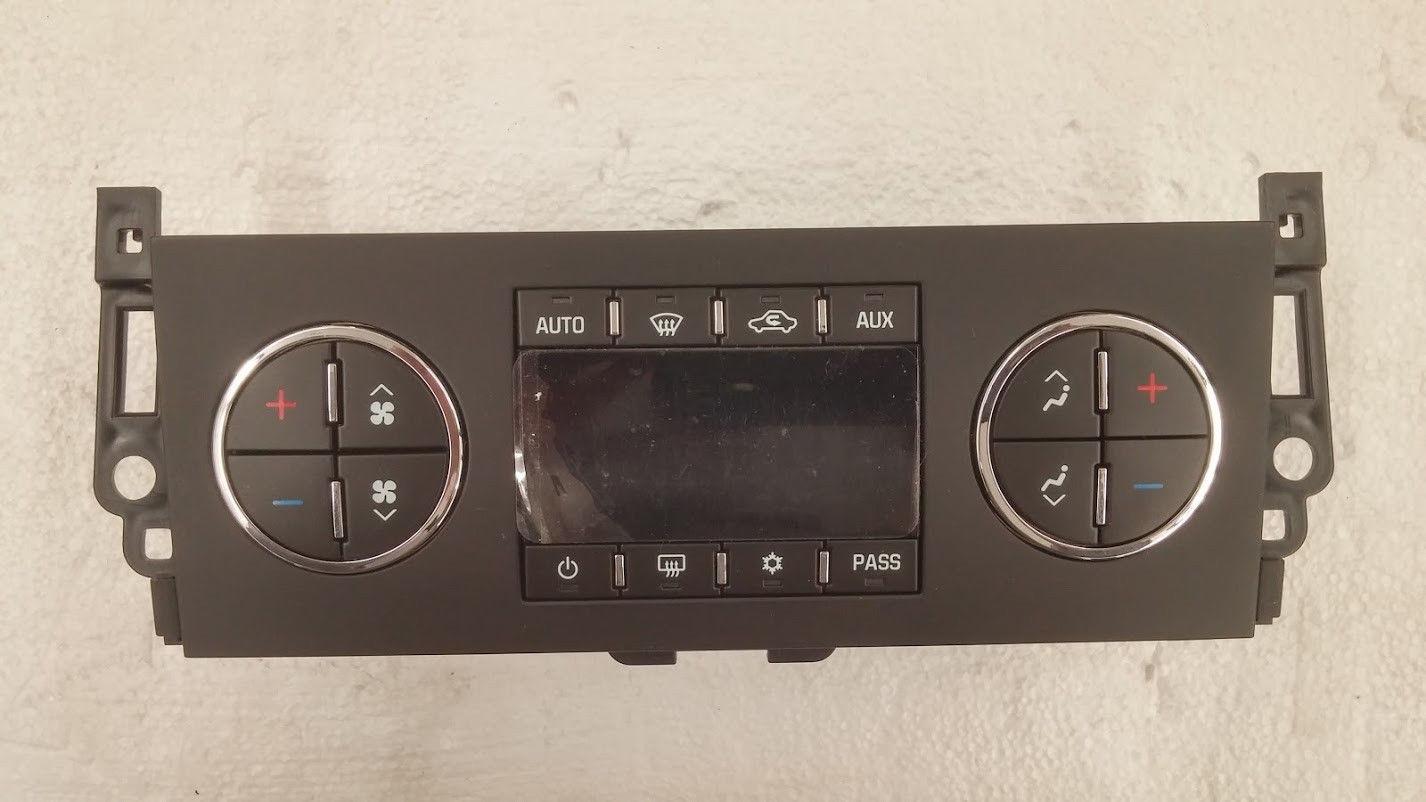 tahoe yukon climate temperature control module