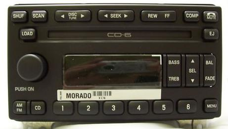 Expedition 2003 Cd6 Radio W O Subwoofer Reman 4l1t 18c815 Ca R