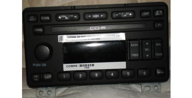 Mustang 200304 Conv Mach 460 Cd6 Radio 3r3t18c815ue Remanrhreplacementradios: 2002 Mustang Mach Radio At Gmaili.net