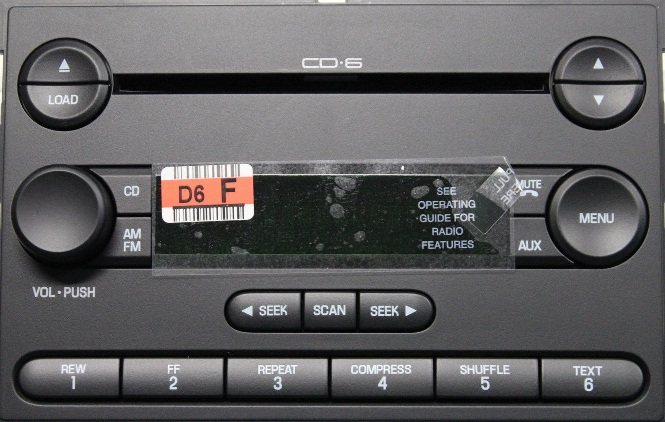 F T C Fa Ford Freestar Cd Radio New on 2004 Acura Tsx