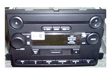 Freestar Monterey 2004+ CD Cassette radio 6F2T-18C868-FB *NEW*