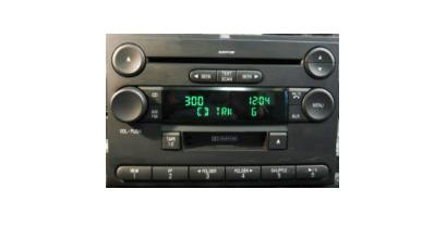 Explorer Mountaineer 2006 CD Cassette MP3 radio 6L2T-18C868-BG