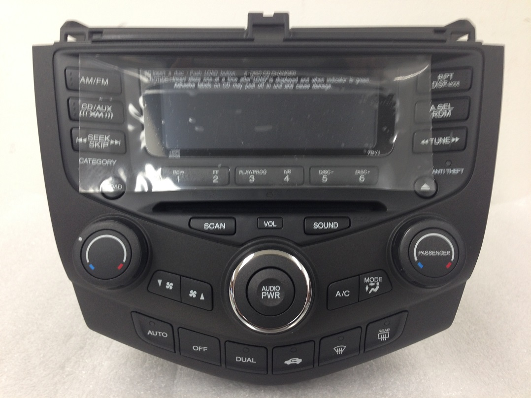 By Honda Cd Radio New on Catera Country
