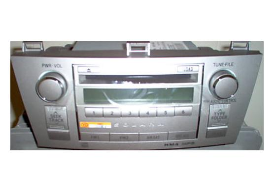 Solara 2008-2009 CD6 MP3 WMA radio 86120-06430 *NEW*