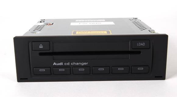 Audi A4 S4 Cd6 Glovebox Cd Changer 8e0057111c New