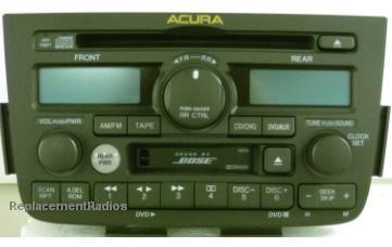 2002 Acura  on All Acura Oem Car Radios  Factory Stereo Repair  Car Radio Parts And