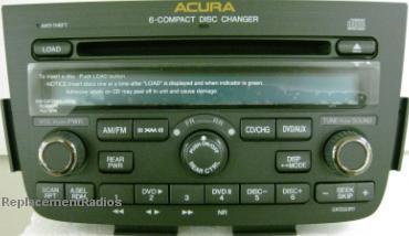 MDX CD XM Ready Radio SVA XF NEW - Acura mdx cd player