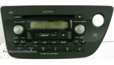 RSX 2002+ CD6 cassette BOSE radio 39100-S6M-A100 *NEW*