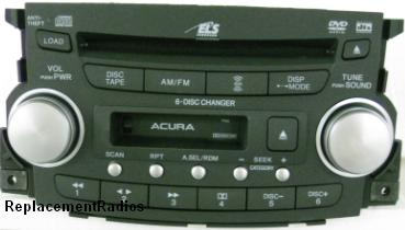 TL 2004-2006 CD6/DVD cassette radio 39100-SEP-A010 1TB2 *NEW*