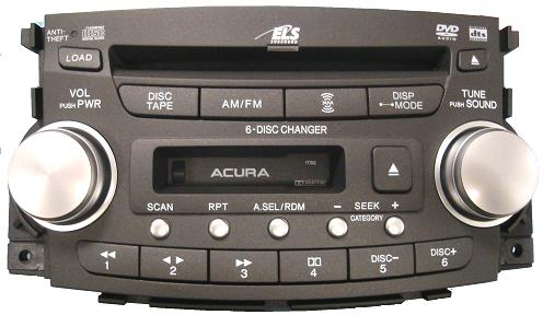 Acura Tl Sep A Cd Dvd Cassette Radio Tb