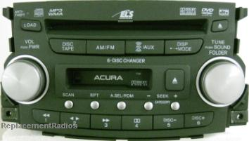 TL 2007-2008 CD6/DVD cassette radio 39100-SEP-A600 1TB6 *NEW*