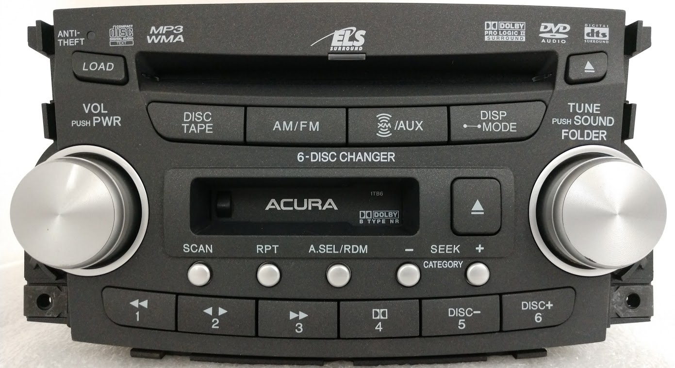 Acura Tl Sep A Cd Dvd Xm Mp Radio Tb on Catera Country