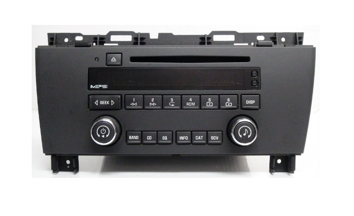 Buick Lacrosse 2005+ CD MP3 radio button set