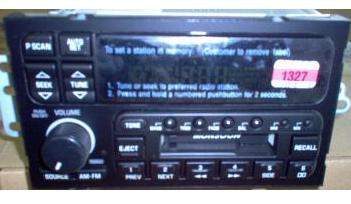 Buick Monsoon Cassette Radio on 1995 Dodge Ram