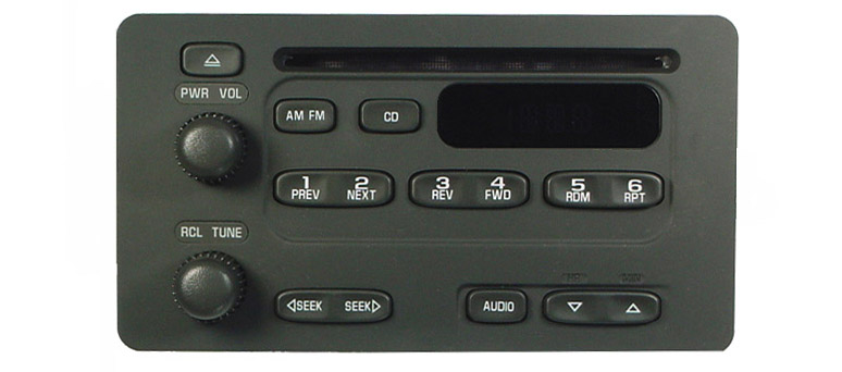 Prizm Tracker Metro 2000+ CD radio U1C 30024333 *NEW*