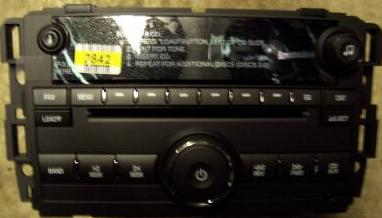 GM 2007+ CD6 mp3 USB radio (Tahoe/Yukon/Truck) 20935459 NEW