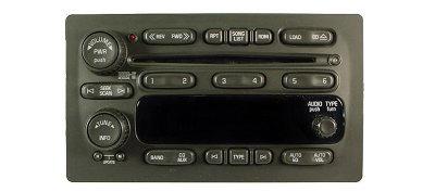 Gm 2005 12 Cd6 Radio Trucks Vans Suvs 15234935 10359577