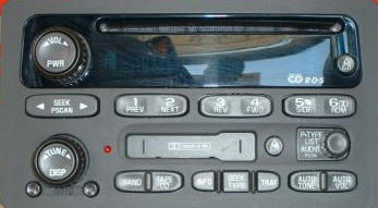 GM 2000+ CD Cassette XM ready radio (cars/minivans)