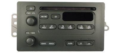 Chevrolet GMC CD radio button or knob (2003+ Truck SUV)