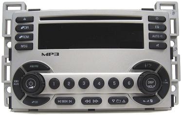 Equinox 2005+ CD MP3 XM ready radio 15850246 10384399 NEW