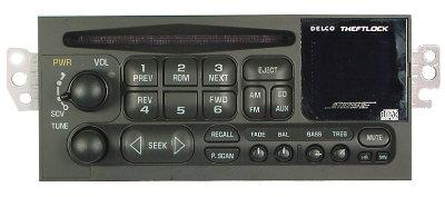 Gm 1998 2002 Cd Bose Radio Blazer S10 Envoy