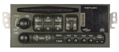 GM 1994-2002 CD MONSOON radio w/CDC (car/van/lt truck)
