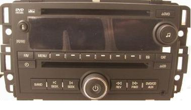 GM 2009 CD DVD MP3 radio (Trucks) 25999294 NEW