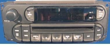 Chrysler 1998-2007 CD radio (revised RBK) Dodge Jeep