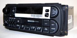 Chrysler 1998-2007 Cassette radio w/CDC (RBB) *NEW*