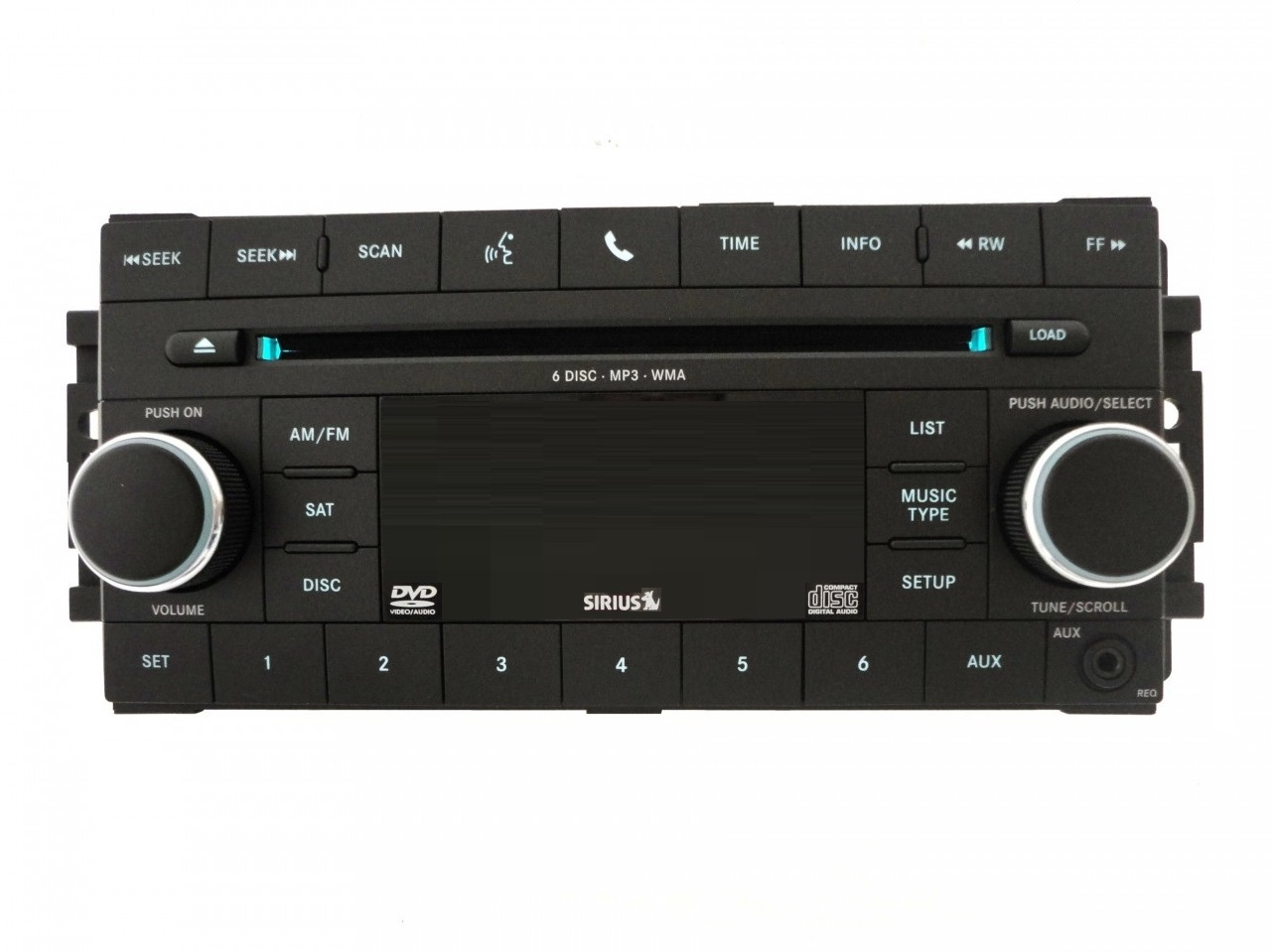 Chrysler Req Cd Dvd Sirius Radio