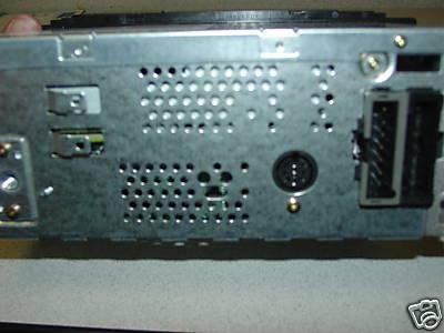 chrysler 1998 2002 cd cassette radio cdc  rbp   oval