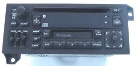 Century 3 Chevy >> Chrysler 1986-2002 CD Cassette radio 'square' w/ SWC