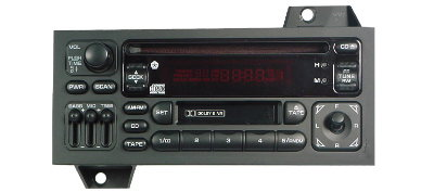 Chrysler Sebring Dodge Avenger 1995-2000 CD Cassette radio