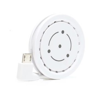 Fli-Coin charging disc for Micro USB devices