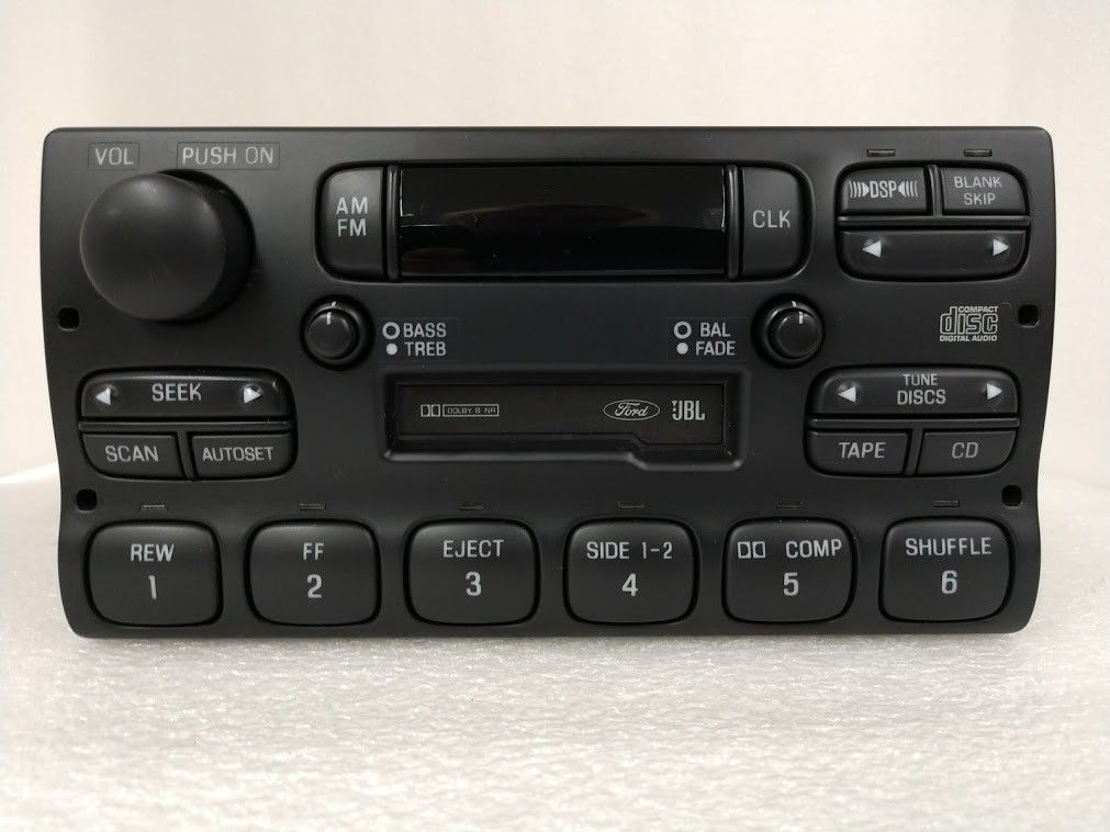 New Ford Bronco >> Ford Explorer Ranger 1995-1997 Cassette radio Premium Sound REMAN