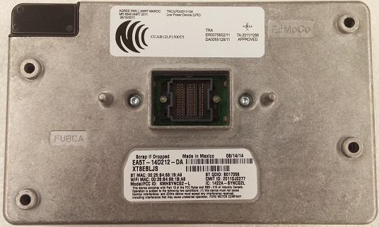 F150 2013+ Navigation SYNC WiFi Bluetooth APIM computer