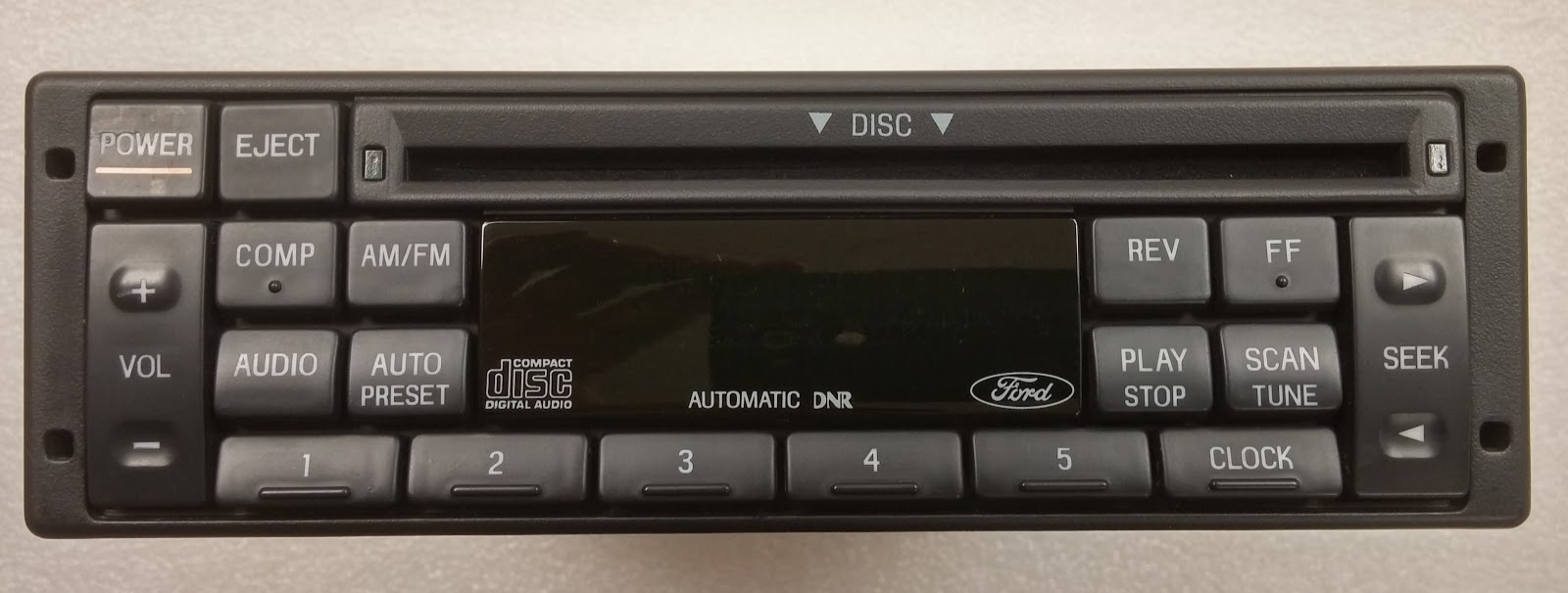 Ford 1992 2000 Cd Radio Single Din Premium Sound