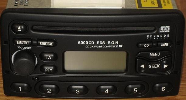 Ford Focus Mercury Cougar 1999-2004 CD radio *NEW*