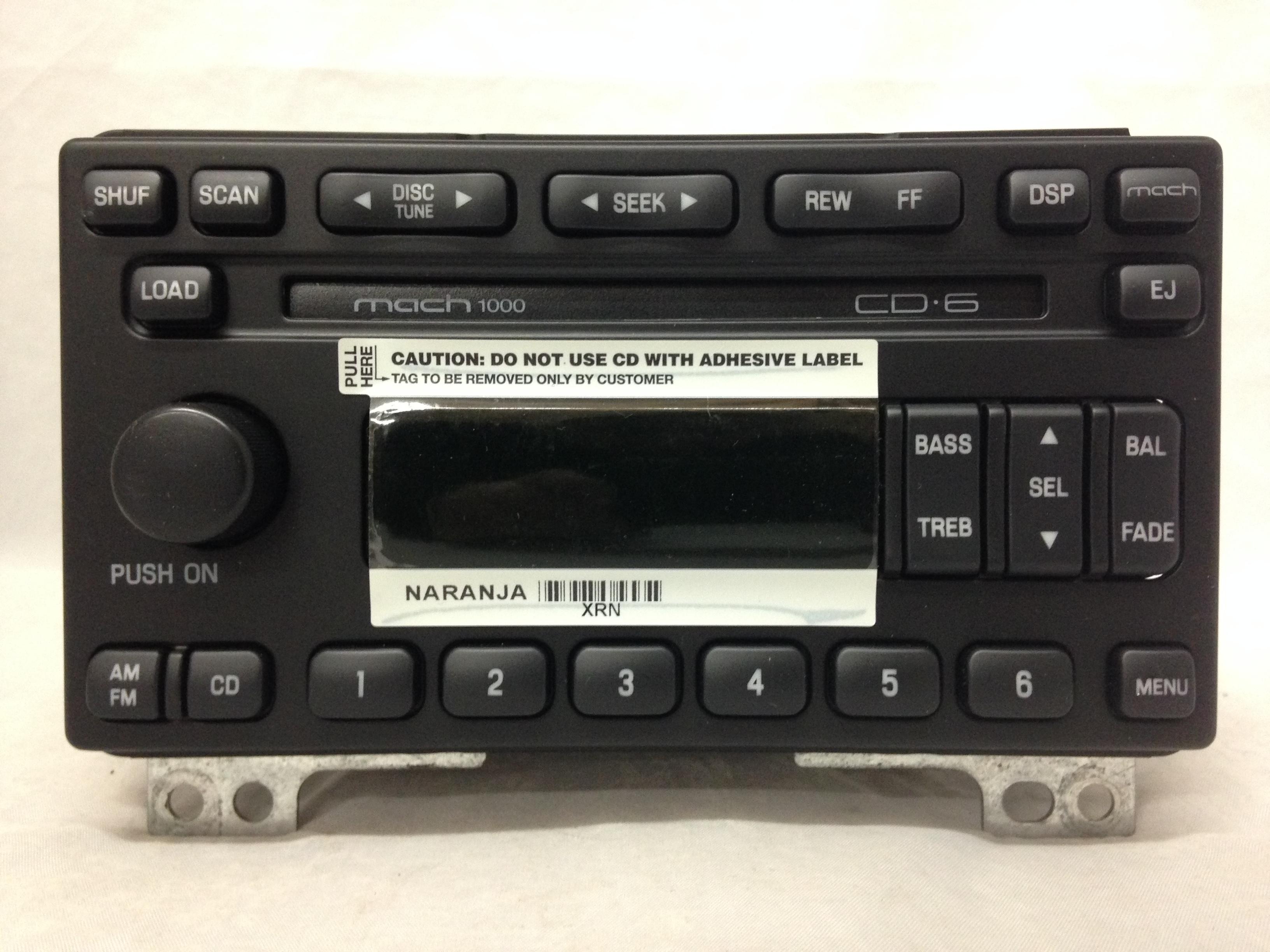Ford Mustang R T C Gb Radio on Chevy Uplander Van