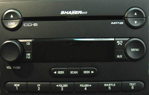 Ford Mustang Shaker Radio on 2006 Dodge Durango