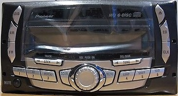 ford ranger 2004 2005 pioneer tremor cd6 mp3 radio reman. Black Bedroom Furniture Sets. Home Design Ideas