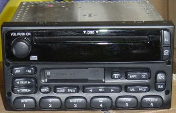 Ford/Lincoln/Mercury radio CD drive repair (1998-2005+)