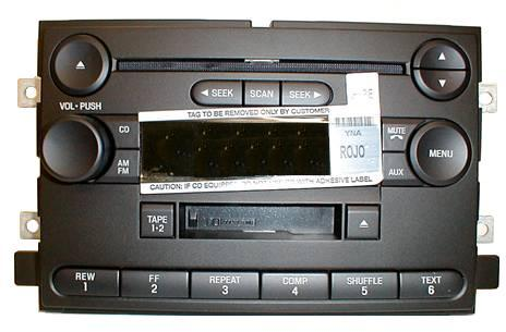 F150 Mark LT 2004-2006 CD Cassette radio 6L3T-18C868-AD *NEW*