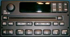Ford/Lincoln/Mercury radio display repair (RDS CD or Cassette)