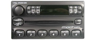 Ford 1998-2008 CD radio MACH MP3